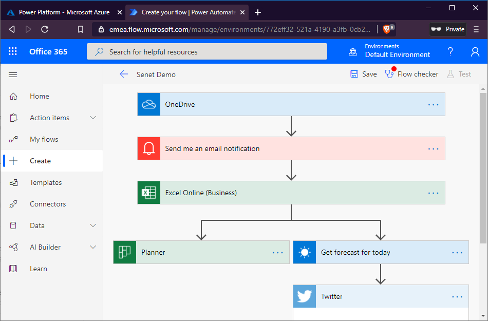 Workflow in Power Automate